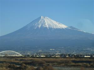 きょうの富士は最高でした。