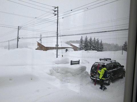 ゴミ捨てーションの雪下ろし