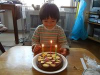 3歳のたんじょーび