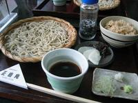 札幌 正直庵の蕎麦!