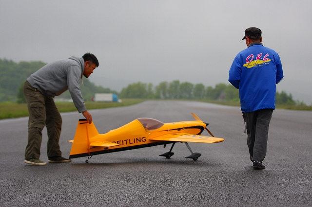 余市農道空港での飛行会が終了しました。