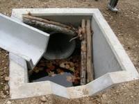 これが小動物の溺死防止策?