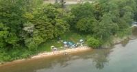 洞爺湖遠征 空撮動画