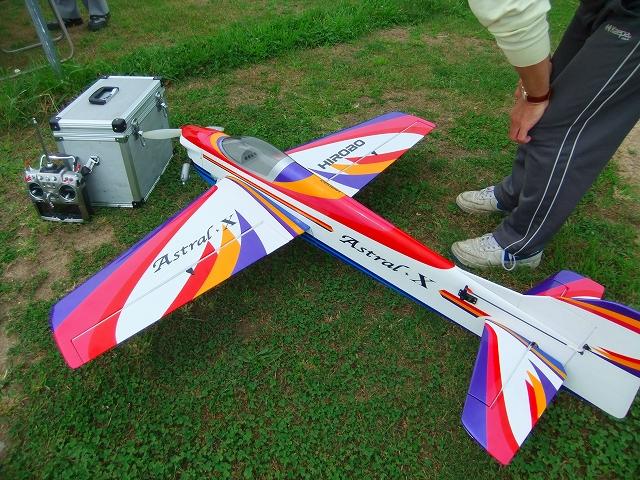 小樽ラジコンクラブ飛行大会の様子
