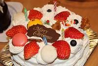 大事なケーキが・・・