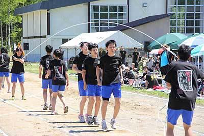 中川中の体育大会
