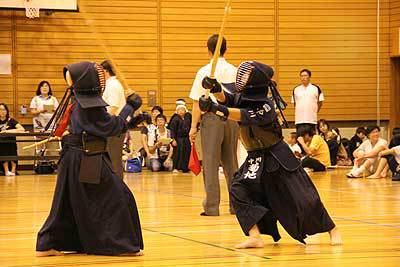 中川で剣道大会
