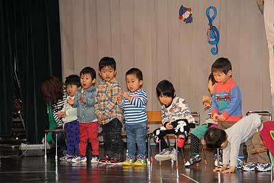 幼児センター発表会