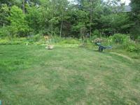 芝刈りと収穫