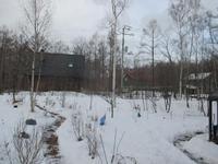 つかの間の雪融け