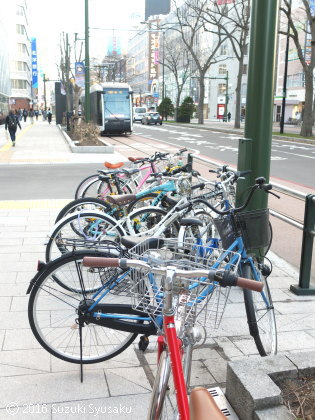 宮の森日記●自転車の季節