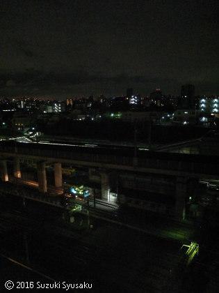 宮の森日記【出張編】●6/23(木)新幹線が見えるホテル