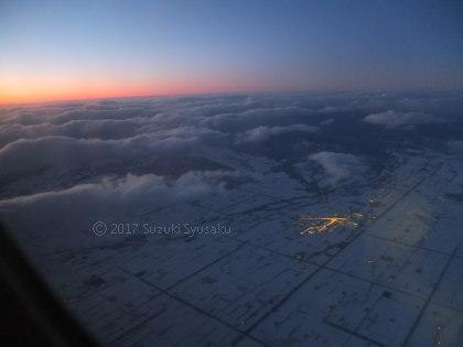 宮の森日記【出張編】●2/4(土)今回も飛行機で釧路へ