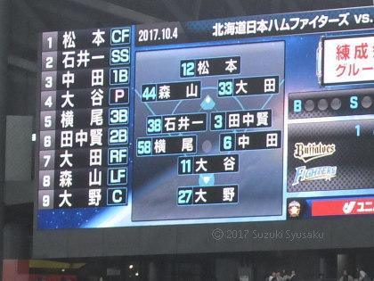 宮の森日記●札幌ドーム最終戦