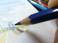 宮の森日記●色鉛筆の芯の先の…。