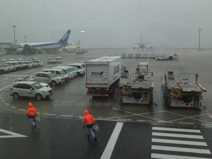 宮の森日記●台風接近の東京へ