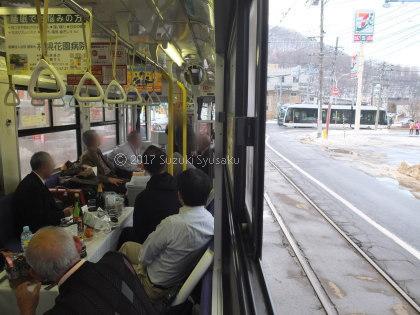 宮の森日記●貸切電車で忘年会