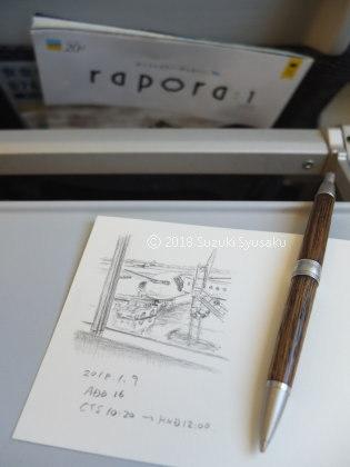 宮の森日記●新年最初の東京行き