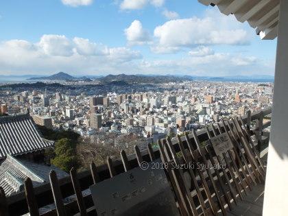 宮の森日記●松山城