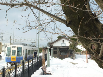 宮の森日記●「30豪雪」のえちぜん鉄道