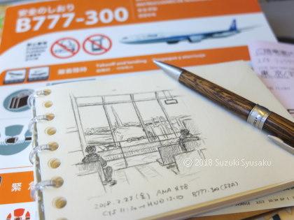 宮の森日記●大きな飛行機で日光詣