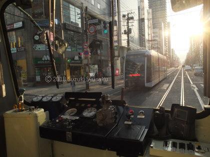 宮の森日記●夕方の札幌市電