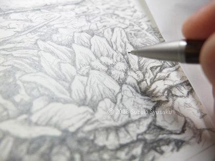 宮の森日記●下描き中