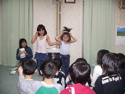 児童クラブで交流会