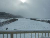 天塩川の結氷