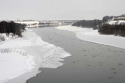 いつ結氷?天塩川