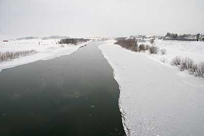 巨大な流氷?