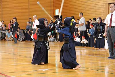 中川町で剣道大会