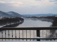 冬の天塩川