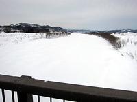 天塩川の解氷はまだ・・・