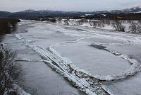 天塩川の氷は何処に