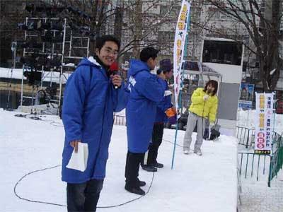 札幌雪まつりで・・・