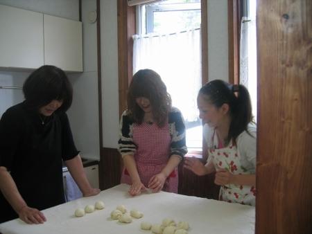 マーシャのパン教室