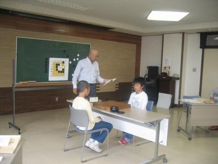 ジュニア囲碁教室(モリ~ゴ)