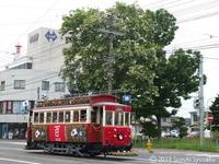 【函館市電】路面電車百周年イベント(2)百年間の電車大行進