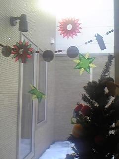 今年のクリスマスツリー。