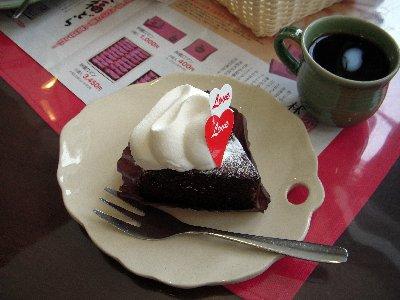 お花のケーキ~2月の体験講座より