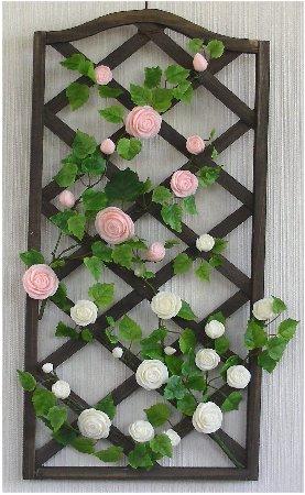 つるバラのトレリス
