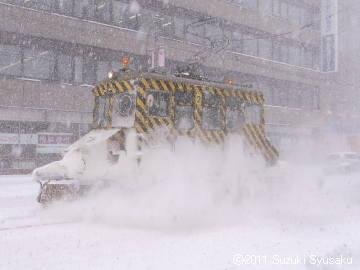 宮の森日記●吹雪!