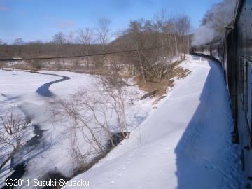 宮の森日記【出張編】●1/23(日)SL冬の湿原号