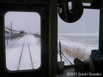 宮の森日記【出張編】●1/24(月)流氷の北浜駅