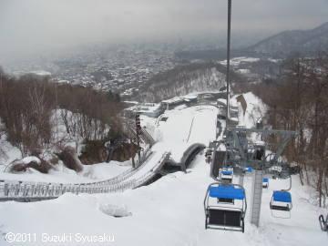 宮の森日記●大倉山ジャンプ競技場