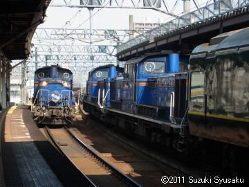 宮の森日記●昼下がりの札幌駅で