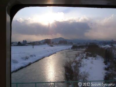 宮の森日記【出張編】●1/13(木)大雪で3時間半遅延!