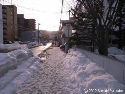 宮の森日記●春の雪景色