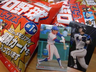 宮の森日記●プロ野球チップス
